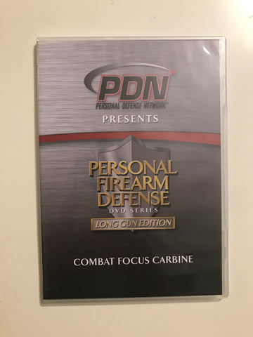 Personal Firearm Defense: Combat Focus Carbine DVD by Rob Pincus (Preowned) - Budovideos