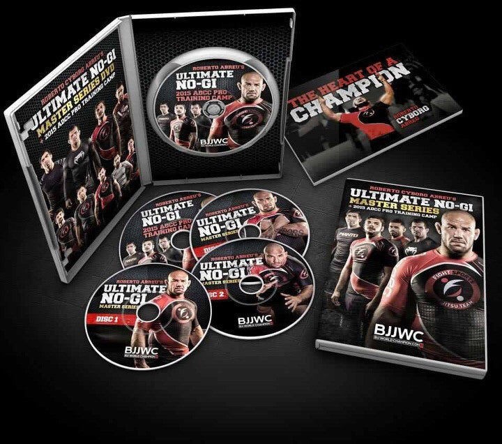 Ultimate No Gi Master Series 4 DVD Set by Roberto Cyborg Abreu