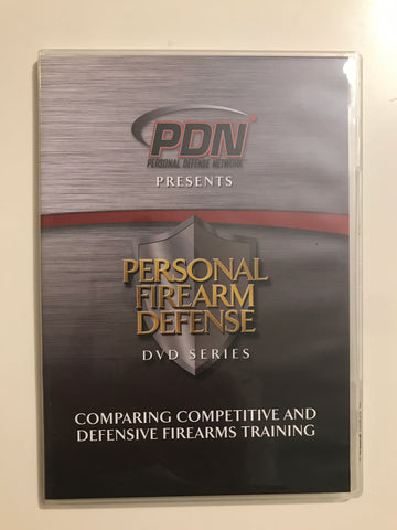 Personal Firearm Defense: Comparing Competitive & Defensive Firearms Training DVD by Rob Pincus (Preowned) - Budovideos