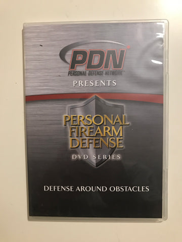 Personal Firearm Defense: Defense Around Obstacles DVD by Rob Pincus (Preowned) - Budovideos