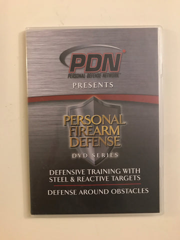 Personal Firearm Defense: Defensive Training w Steel & Reactive Targets DVD by Rob Pincus (Preowned) - Budovideos