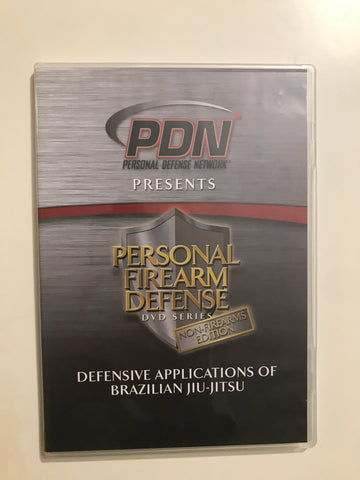 Personal Firearm Defense: Defensive Applications of Brazilian Jiu-Jitsu DVD by Rob Pincus & Cecil Burch (Preowned)