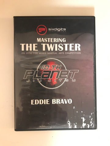 Mastering the Twister DVD by Eddie Bravo (Preowned) - Budovideos