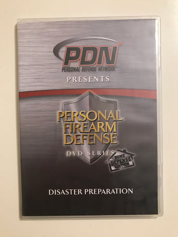 Personal Firearm Defense: Disaster Preparation DVD by Rob Pincus (Preowned) - Budovideos