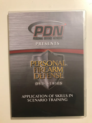 Personal Firearm Defense: Application of Skills in Scenario Training DVD by Rob Pincus (Preowned) - Budovideos