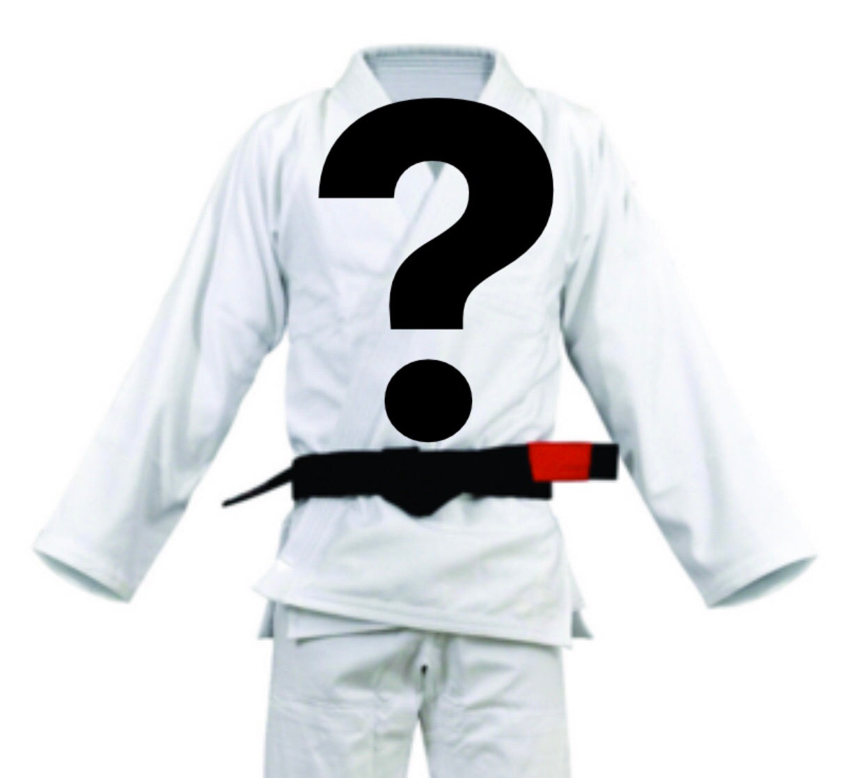 Mystery BJJ Gi Adult and Children's Sizes - WHITE