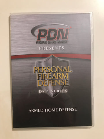 Personal Firearm Defense: Armed Home Defense DVD by Rob Pincus (Preowned) - Budovideos