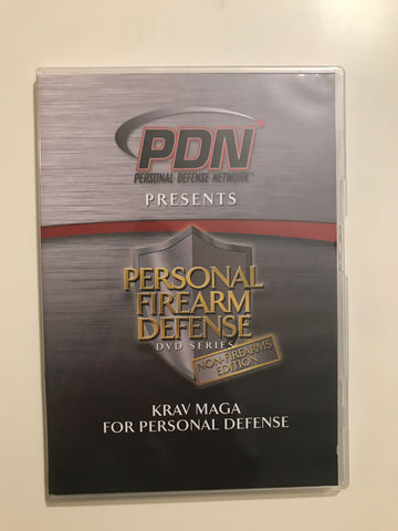 Personal Firearm Defense: Krav Maga for Personal Defense DVD by Rob Pincus & Aaron Jannetti (Preowned)