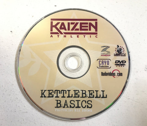 Kettllebell Basics DVD with Rik Brown - Budovideos Inc