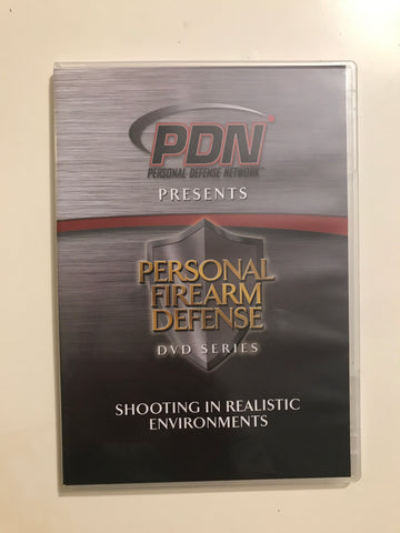 Personal Firearm Defense: Shooting in Realistic Environments DVD by Rob Pincus (Preowned) - Budovideos