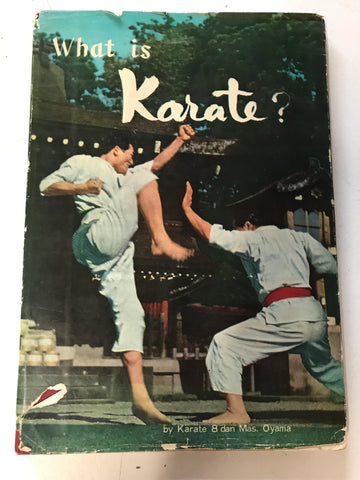 What is Karate Book by Mas Oyama (Preowned) - Budovideos