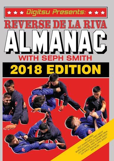 Reverse De La Riva Almanac 2 DVD Set with Seph Smith - Budovideos