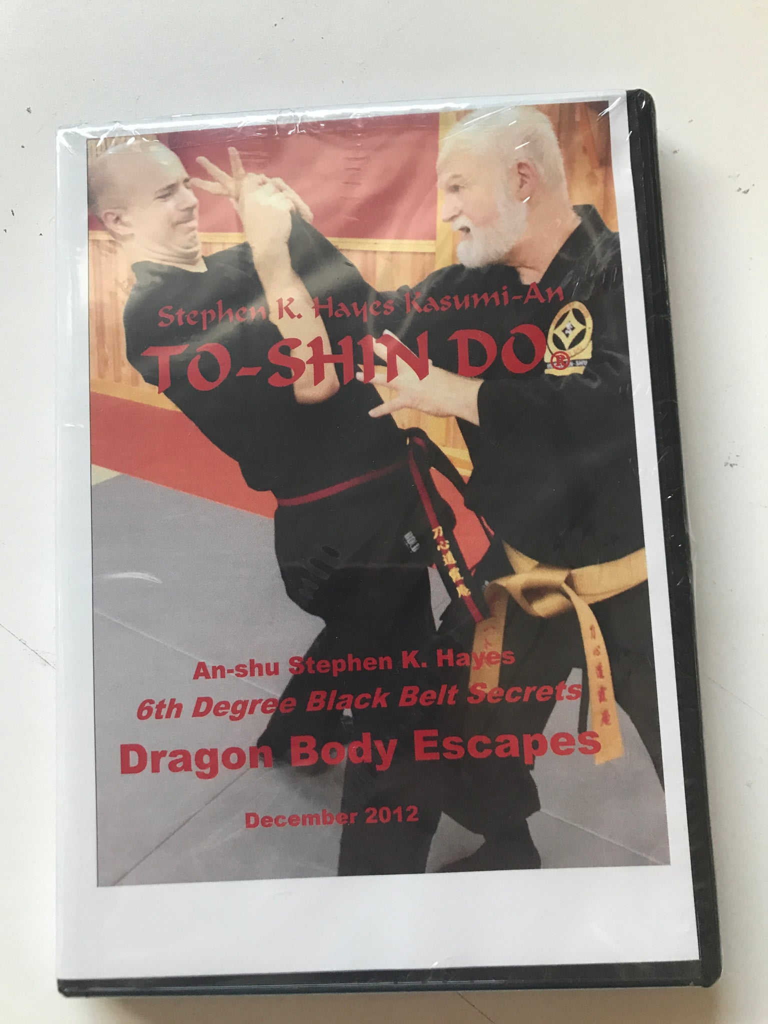 Dragon Body Escapes DVD with Stephen Hayes - Budovideos