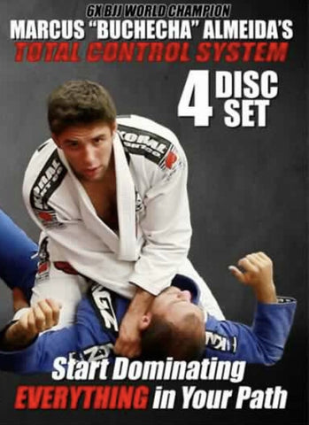 Total Control System 4 DVD Set with Marcus Buchecha Almeida