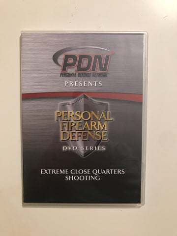 Personal Firearm Defense: Extreme Close Quarters Shooting DVD by Rob Pincus (Preowned) - Budovideos