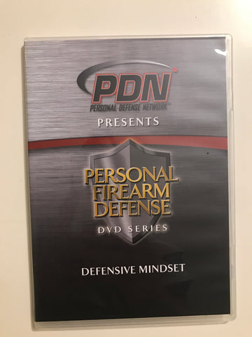 Personal Firearm Defense: Defensive Mindset DVD by Rob Pincus (Preowned) - Budovideos