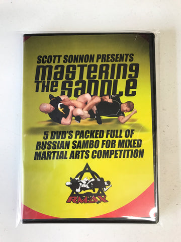MASTERING THE SADDLE Russian Sambo for Mixed Martial Arts Competition 5 DVD Set by Scott Sonnon (Preowned) - Budovideos