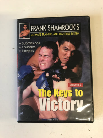 The Keys to Victory DVD by Frank Shamrock (Preowned) - Budovideos
