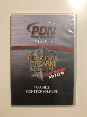 Personal Firearm Defense: Fight for Your Life DVD by Rob Pincus (Preowned) - Budovideos