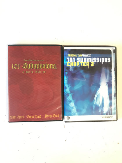 101 Submissions 1 & 2 DVD (Preowned) - Budovideos