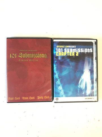 101 Submissions 1 & 2 DVD (Preowned)