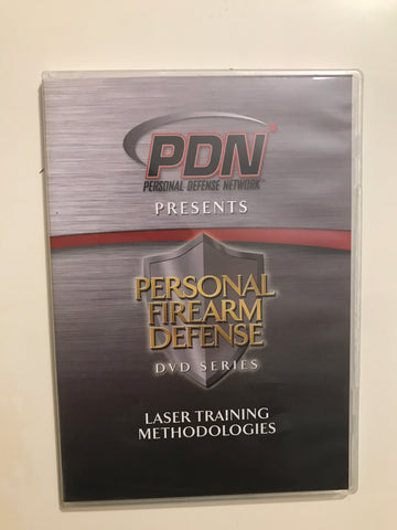 Personal Firearm Defense: Laser Training Methodologies DVD by Rob Pincus (Preowned)