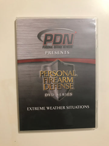 Personal Firearm Defense: Extreme Weather Situations DVD by Rob Pincus (Preowned) - Budovideos