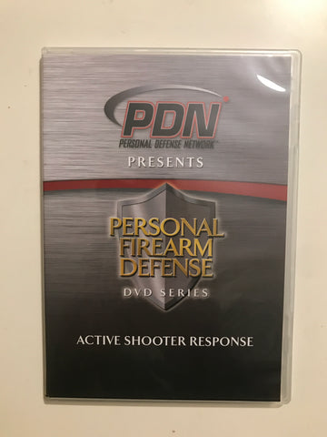 Personal Firearm Defense: Active Shooter Response DVD by Rob Pincus (Preowned) - Budovideos