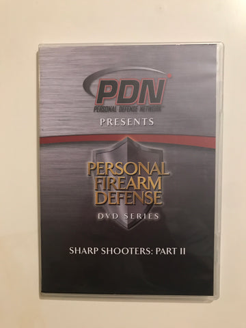 Personal Firearm Defense: Sharp Shooters Part 2 DVD by Rob Pincus (Preowned) - Budovideos