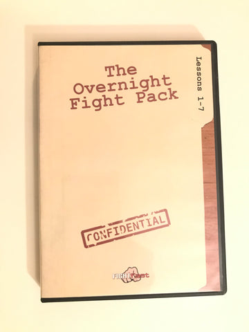 The Overnight Fight Pack 3 DVD Set (Preowned) - Budovideos