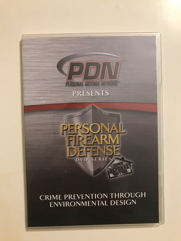 Personal Firearm Defense: Crime Prevention Through Environmental Design DVD by Rob Pincus (Preowned) - Budovideos