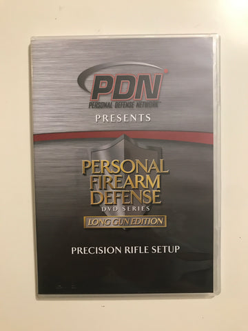 Personal Firearm Defense: Precision Rifle Setup DVD by Rob Pincus (Preowned) - Budovideos