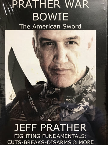 Prather War Bowie Knife DVD with Jeff Prather