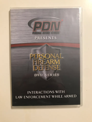 Personal Firearm Defense: Interactions with Law Enforcement While Armed DVD by Rob Pincus (Preowned) - Budovideos