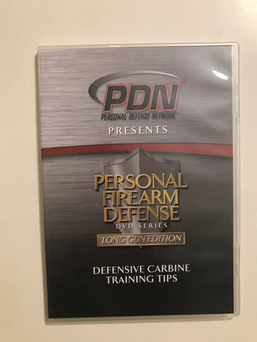 Personal Firearm Defense: Defensive Carbine Training Tips DVD by Rob Pincus (Preowned) - Budovideos