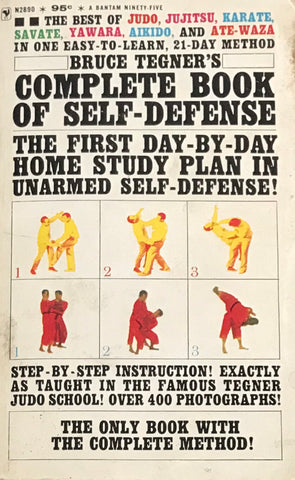 Complete Book of Self-Defense Book by Bruce Tegner (Preowned)