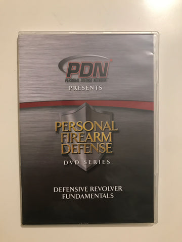 Personal Firearm Defense: Defensive Revolver Fundamentals DVD by Rob Pincus (Preowned) - Budovideos