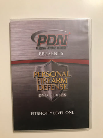 Personal Firearm Defense: Fitshot Level One DVD by Rob Pincus (Preowned) - Budovideos