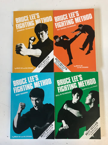 Bruce Lee's Fighting Method 4 Book Set (Preowned) - Budovideos