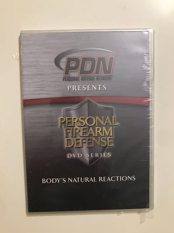 Personal Firearm Defense: Body's Natural Reactions DVD by Rob Pincus - Budovideos