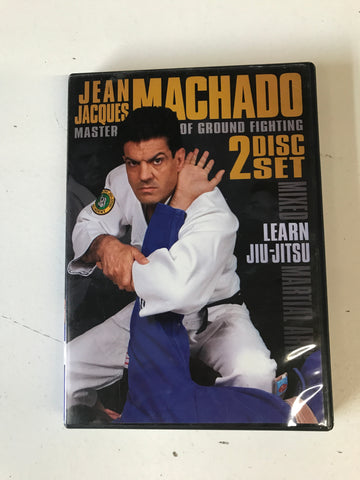 Master of Ground Fighting 2 DVD Set by Jean Jacques Machado - Budovideos