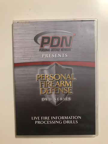 Personal Firearm Defense: Live Fire Information Processing Drills DVD by Rob Pincus (Preowned) - Budovideos