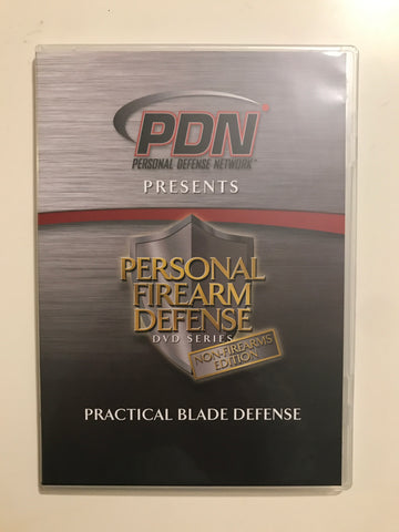 Personal Firearm Defense: Practical Blade Defense DVD by Rob Pincus (Preowned) - Budovideos