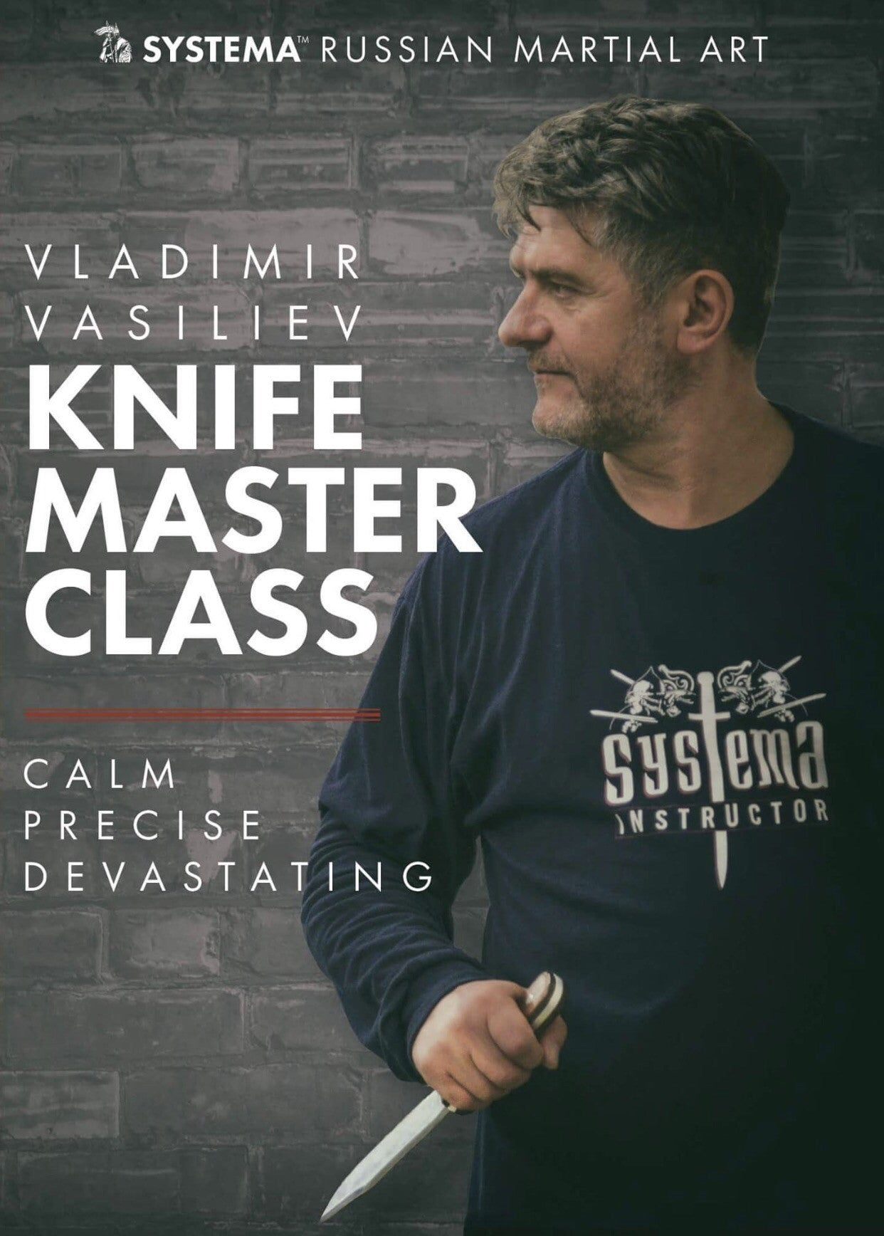 Systema Knife Master Class DVD with Vladimir Vasiliev - Budovideos