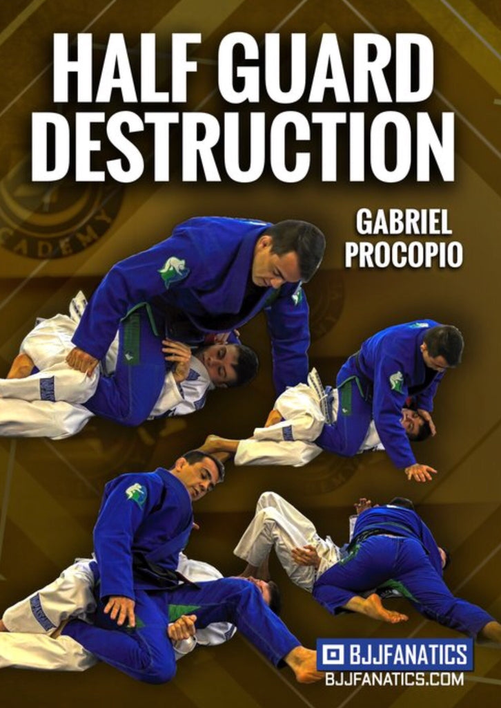 Half Guard Destruction 2 DVD Set by Gabriel Procopio - Budovideos