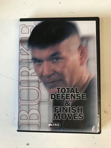 Total Defense & Finish Moves 3 Disc Set by Billy Burke (Preowned)