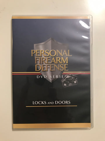 Personal Firearm Defense: Locks & Doors DVD by Rob Pincus (Preowned) - Budovideos