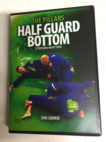 The Pillars: Half Guard Bottom Course 5 DVD Set by Stephen Whittier