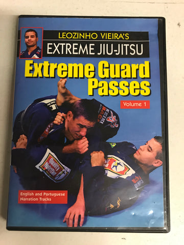 Extreme Jiu Jitsu: Guard Passes DVD 1 with Leo Vieira (Preowned)