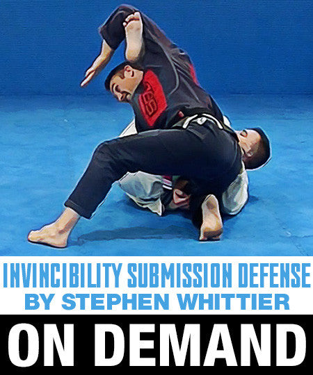 Invincibility: Submission Defense Course by Stephen Whittier (On Demand) - Budovideos